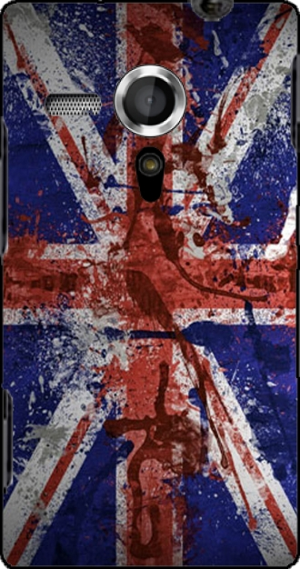 Silicone Sony Xperia SP with pictures flag
