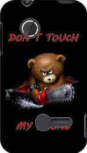 Don't touch my phone Case for Sony Xperia Tipo
