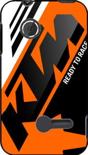KTM Racing Orange And Black Case for Sony Xperia Tipo