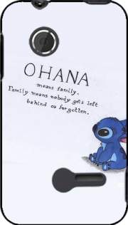 Ohana Means Family Case for Sony Xperia Tipo