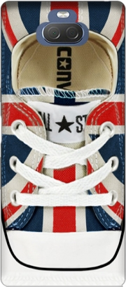All Star Basket shoes Union Jack London Case for Sony Xperia 10 Plus