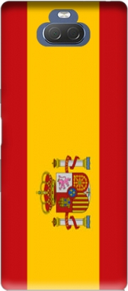 Flag Spain Case for Sony Xperia 10 Plus
