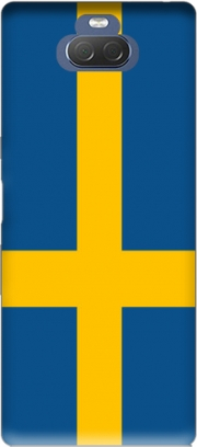 Flag Sweden Case for Sony Xperia 10 Plus