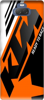 KTM Racing Orange And Black Case for Sony Xperia 10 Plus