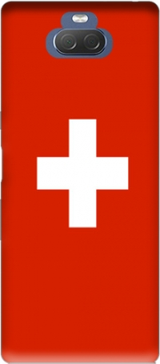 Switzerland Flag Case for Sony Xperia 10 Plus