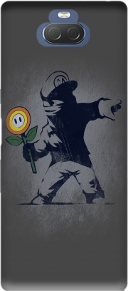 Banksy Flower bomb Case for Sony Xperia 10