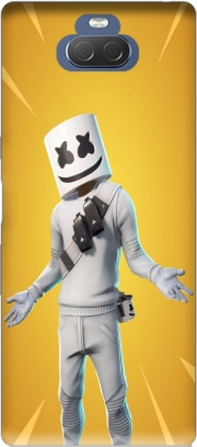 Fortnite Marshmello Skin Art Case for Sony Xperia 10