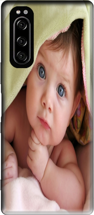 Silicone Sony Xperia 5 with pictures baby