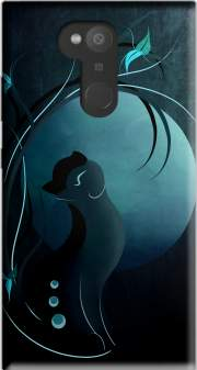 Sensual Cat in the Moonlight  Case for Sony Xperia L2