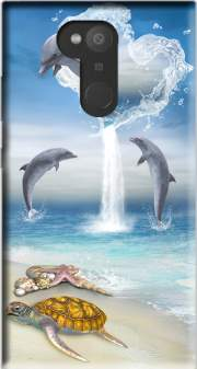 The Heart Of The Dolphins Case for Sony Xperia L2