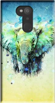 watercolor elephant Case for Sony Xperia L2