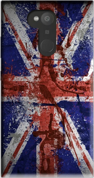 Silicone Sony Xperia L2 with pictures flag