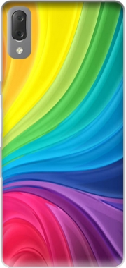 Rainbow Abstract Case for Sony Xperia L3
