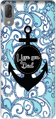 Blue Water - I love you Dad Case for Sony Xperia L3