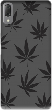 Cannabis Leaf Pattern Case for Sony Xperia L3