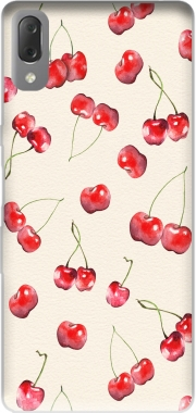 Cherry Pattern Case for Sony Xperia L3