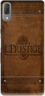 cPrestige leather wallet Case for Sony Xperia L3
