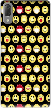 funny smileys Case for Sony Xperia L3