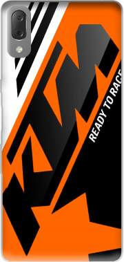 KTM Racing Orange And Black Case for Sony Xperia L3