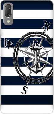 Navy Striped Nautica Case for Sony Xperia L3