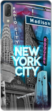 New York City II [blue] Case for Sony Xperia L3