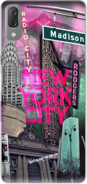 Case New York City II [pink] for Sony Xperia L3