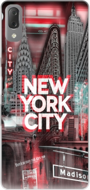 New York City II [red] Case for Sony Xperia L3