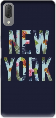 New York Floral Case for Sony Xperia L3