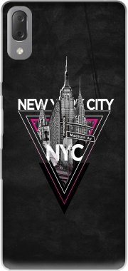NYC V [pink] Case for Sony Xperia L3