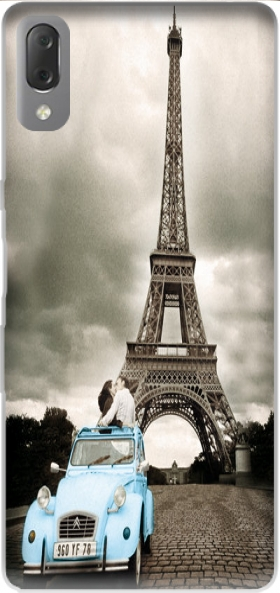 Case Eiffel Tower Paris So Romantique for Sony Xperia L3