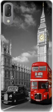 Red bus of London with Big Ben Case for Sony Xperia L3