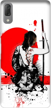 Trash Polka - Female Samurai Case for Sony Xperia L3