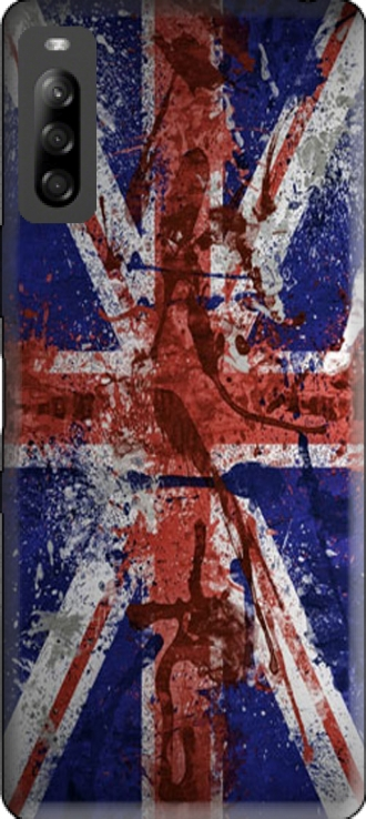 Silicone Sony Xperia L4 with pictures flag