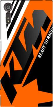 KTM Racing Orange And Black Case for Sony Xperia XZ