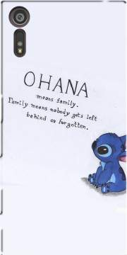 Ohana Means Family Case for Sony Xperia XZ