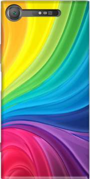 Rainbow Abstract Case for Sony Xperia XZ1