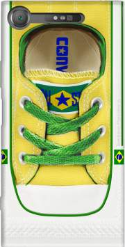 All Star Basket shoes Brazil Case for Sony Xperia XZ1