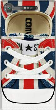All Star Basket shoes Union Jack London Case for Sony Xperia XZ1