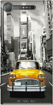 Yellow taxi City of New York City Case for Sony Xperia XZ1
