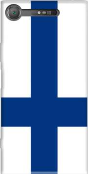 Flag of Finland Case for Sony Xperia XZ1