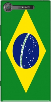 Flag Brasil Case for Sony Xperia XZ1