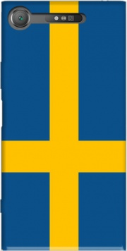 Flag Sweden Case for Sony Xperia XZ1