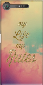 My life My rules Case for Sony Xperia XZ1