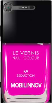 Nail Polish 69 Seduction Case for Sony Xperia XZ1