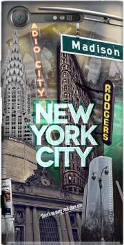 New York City II [green] Case for Sony Xperia XZ1