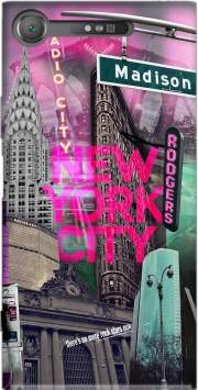 New York City II [pink] Case for Sony Xperia XZ1