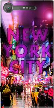 New York City - Broadway Color Case for Sony Xperia XZ1
