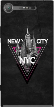 NYC V [pink] Case for Sony Xperia XZ1