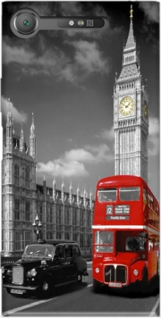 Red bus of London with Big Ben Case for Sony Xperia XZ1