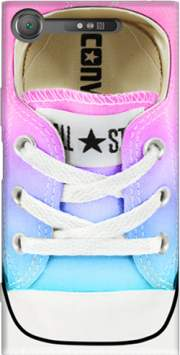 All Star Basket shoes rainbow Case for Sony Xperia XZ1